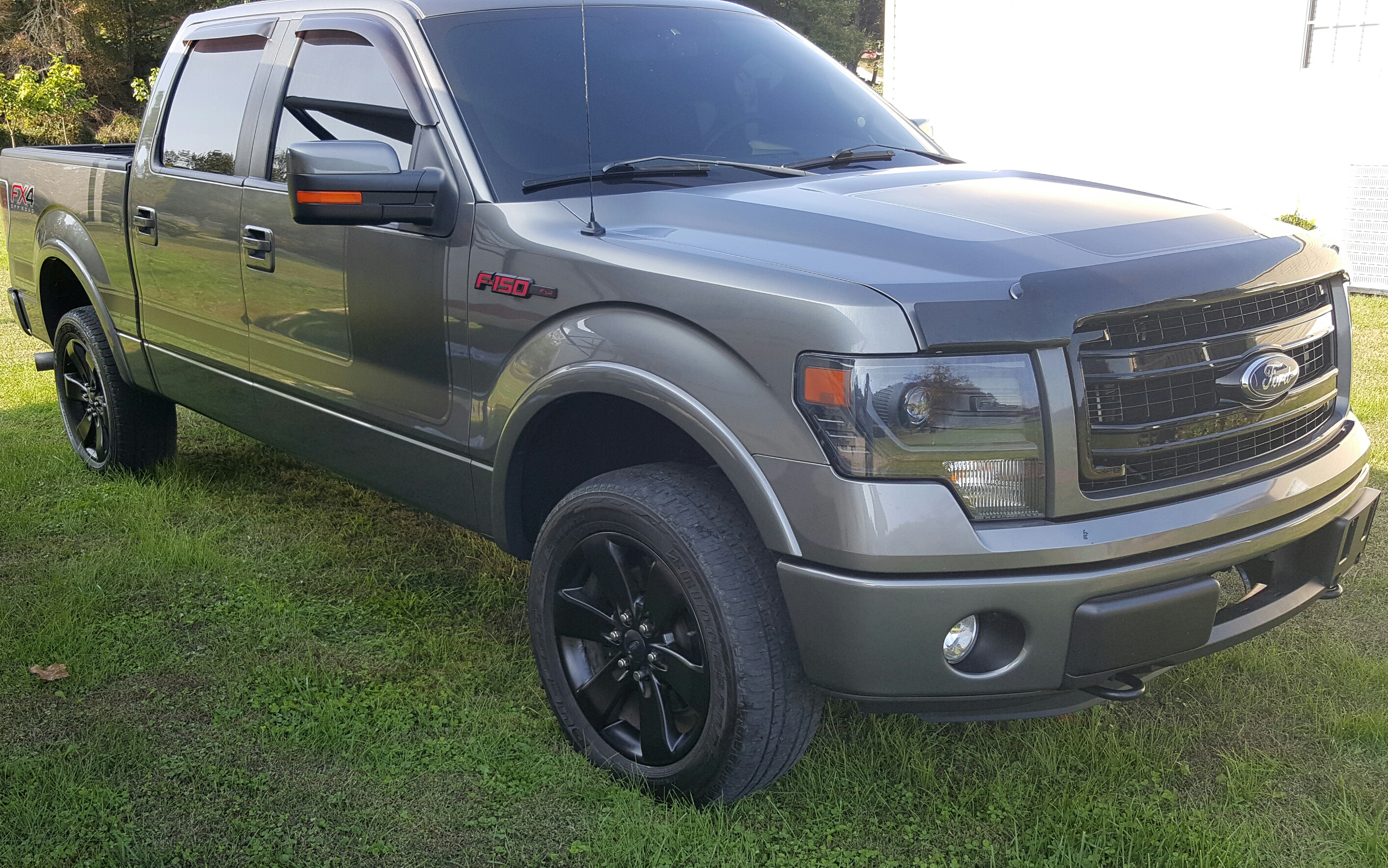 2011 F150 Leveling Kit >> For Sale - 2013 Ford f150 FX4 Super Crew Ecoboost-LOADED! $30995 | Trap Shooters Forum