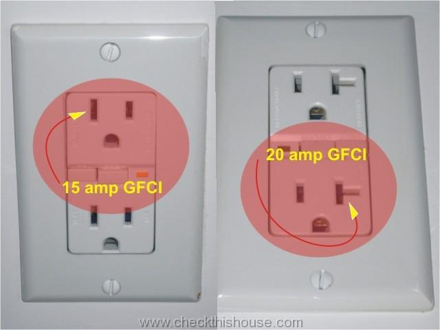 gfi outlet 20a outlet on a 15a breaker trap shooters forum Leviton 20 Amp GFCI at fashall.co