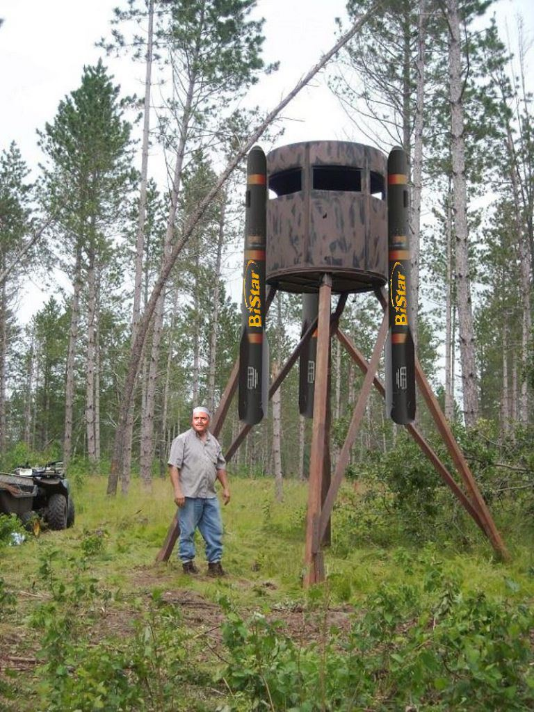 Bi Star Introduces Portable Deer Blind Trap Shooters Forum