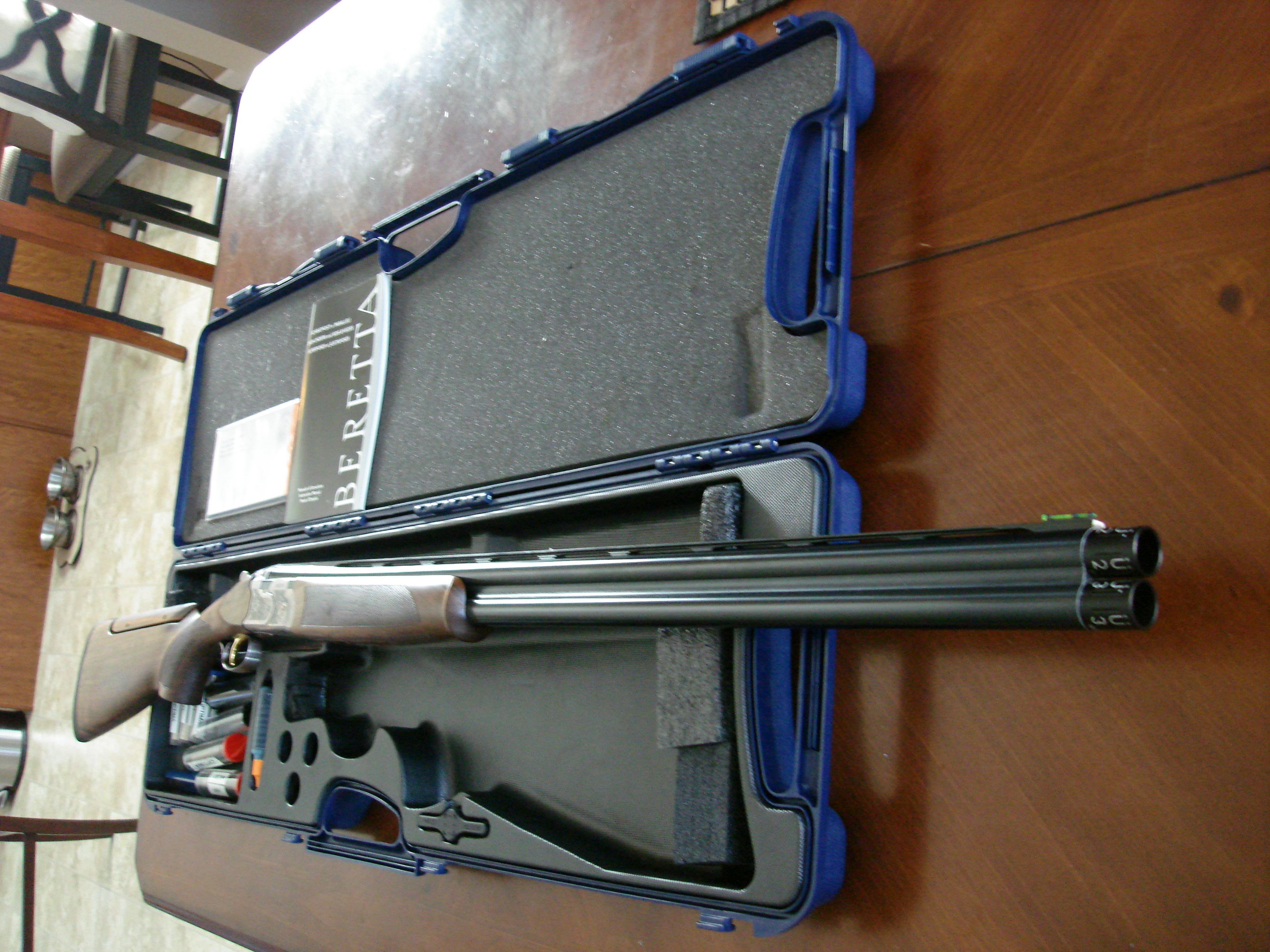 Dings And Dents >> For Sale - Beretta O/U, 686 Sporting Silver Pigeon I, 12 ...