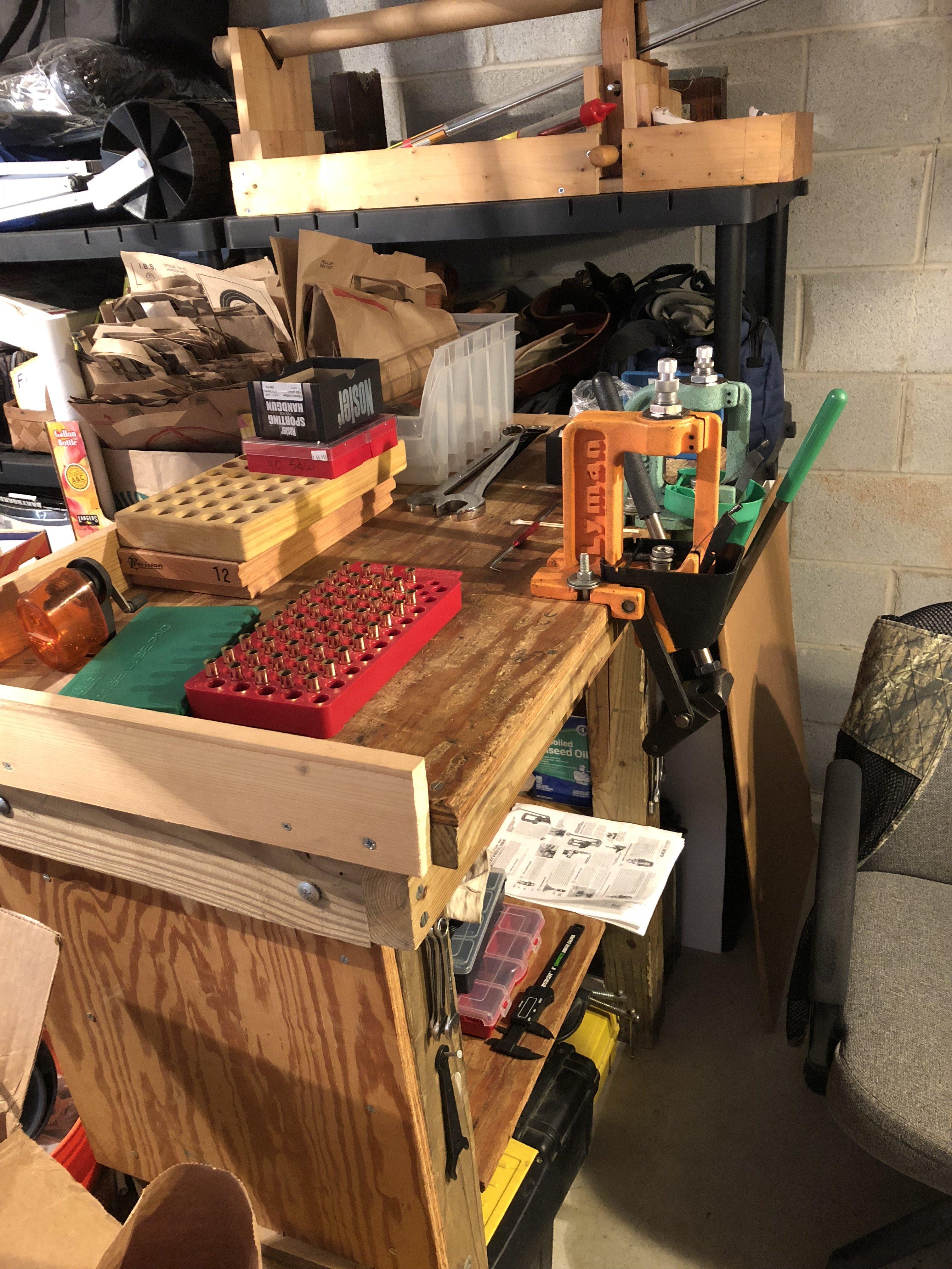 Reloading Bench Organization