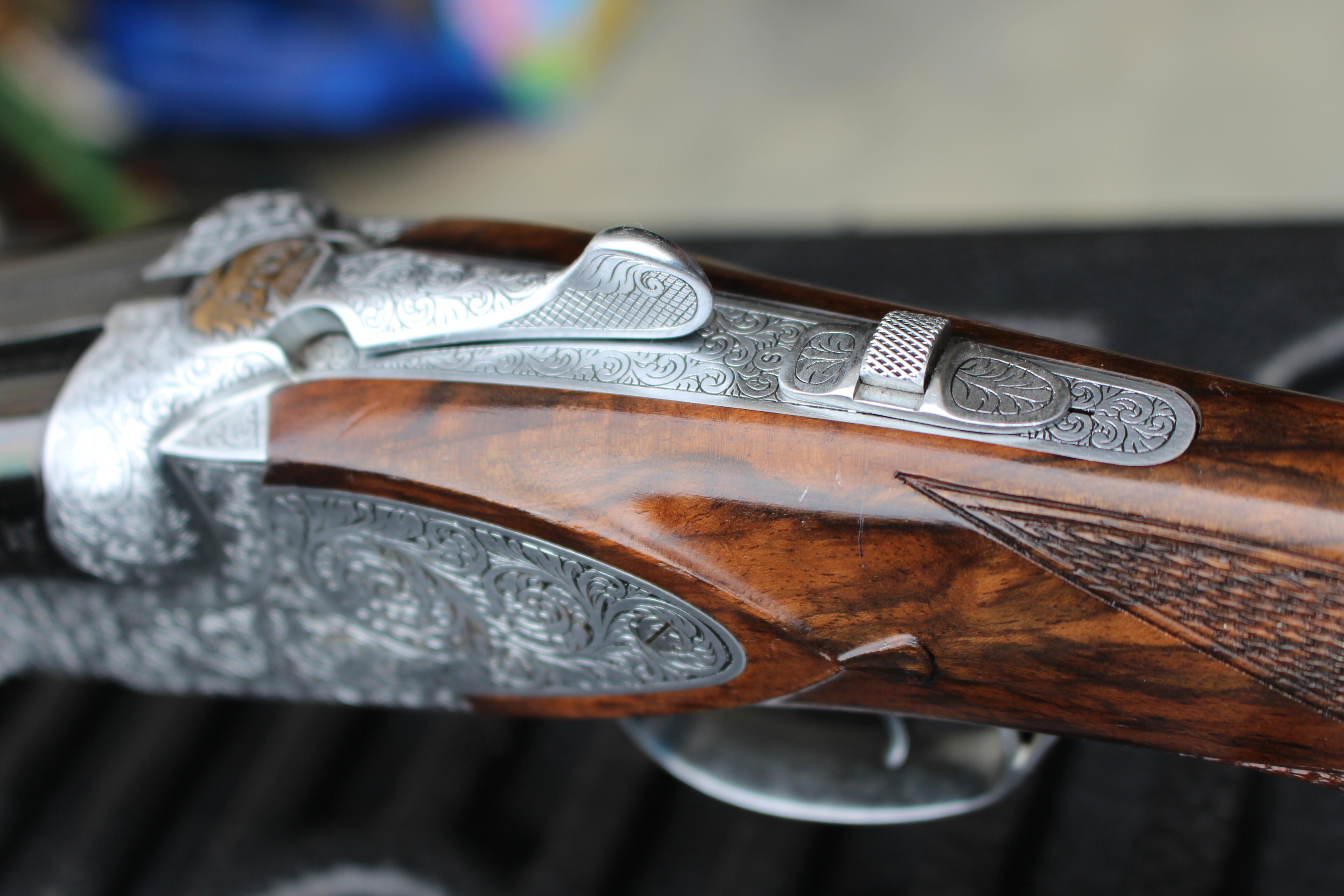 For Sale - DeHaan 12 ga Custom SGR08 SxS   Trap Shooters Forum