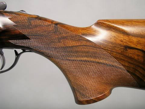 To varnish or not over Checkering? | Trap Shooters Forum