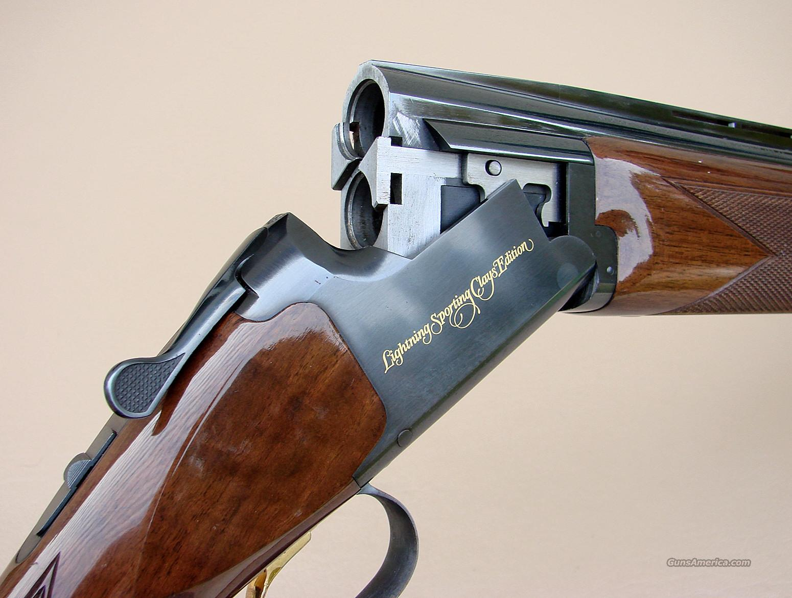 Found - Browning Lightning Sporting Clays Edition | Trap