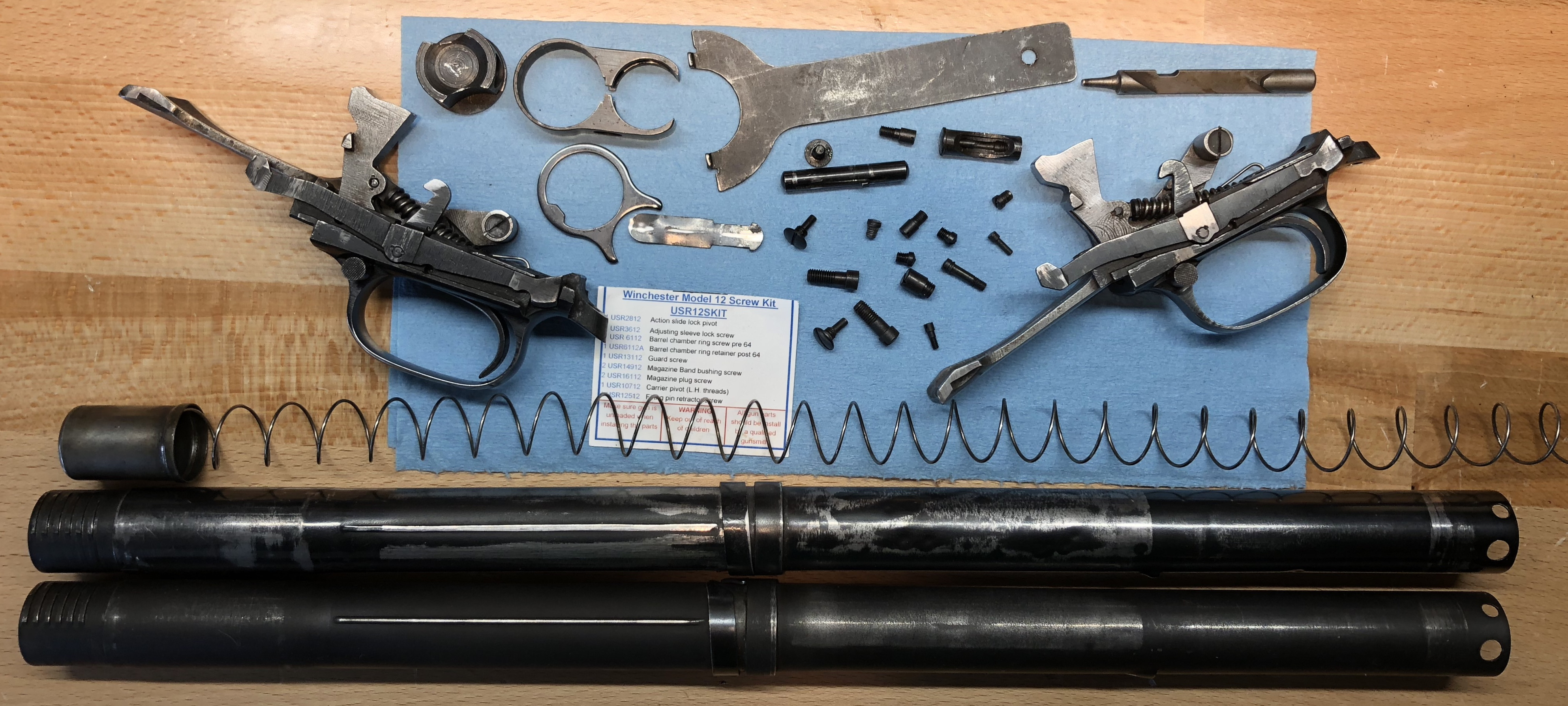 Sold - Winchester Model 12 Parts | Trap Shooters Forum
