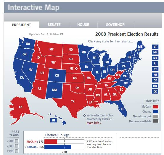 The Most Corrupt States In America Page Trap Shooters Forum - Us map showing red and blue states
