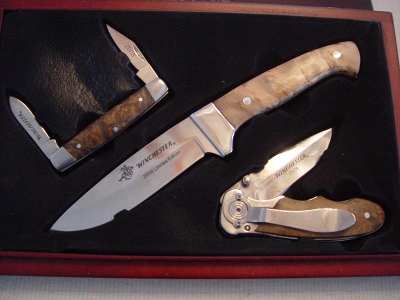 Fs Winchester Limited Addition 3 Knife Set 2008spf Trap