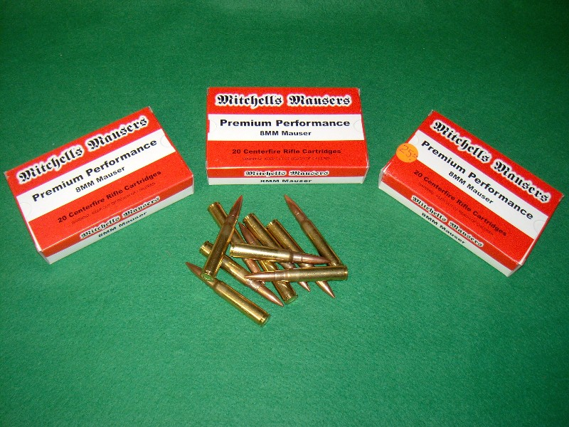 8 Mm Ammo For Mauser K98 By Mitchell