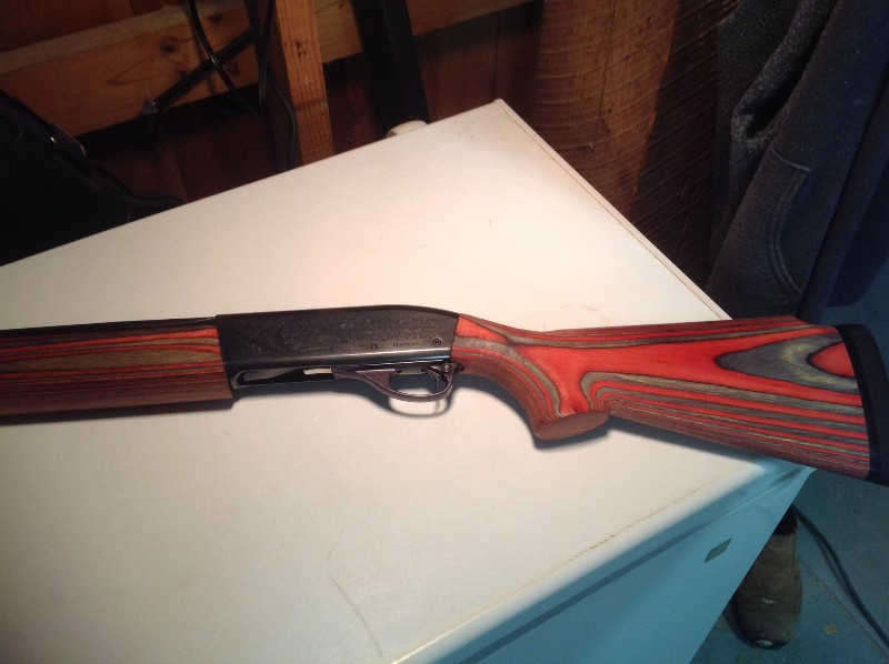 Remington 1100 Custom Wood Stock