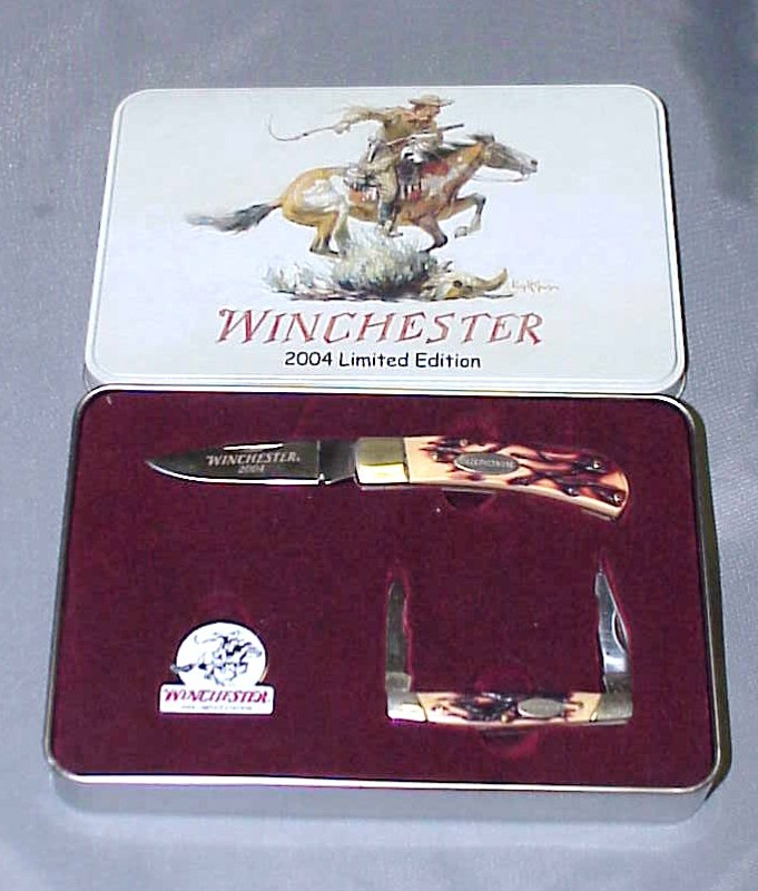 Sold Winchester 2004 Limited Edition Knife Set Trap