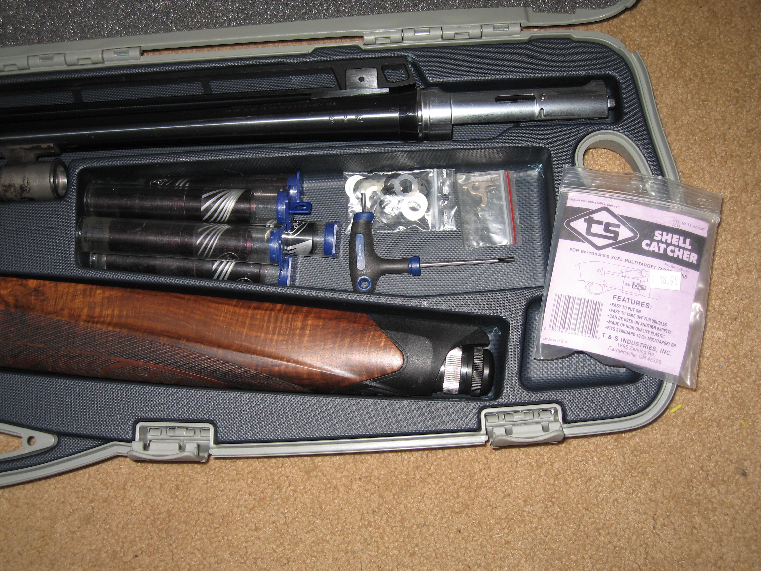 Sold - Beretta 400 Multitarget 32